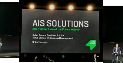 AIS Solutions and Kninja looking back at our Firm of the Future Year
