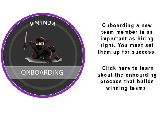 Kninja Onboarding Slide